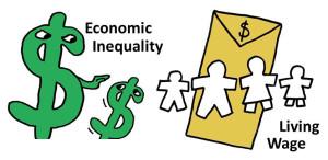 Logo Economic Inequality  & Living Wage