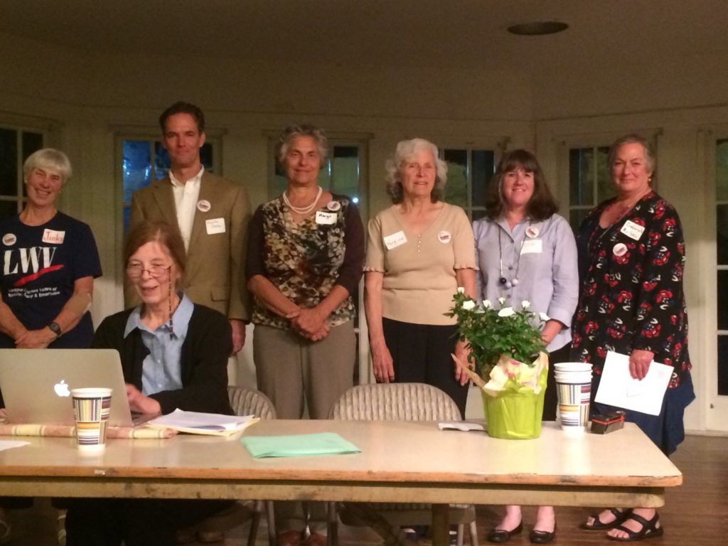 LWVBAE Board 2016 at Annual meeting