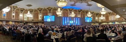 plenary session in the grand ballroom