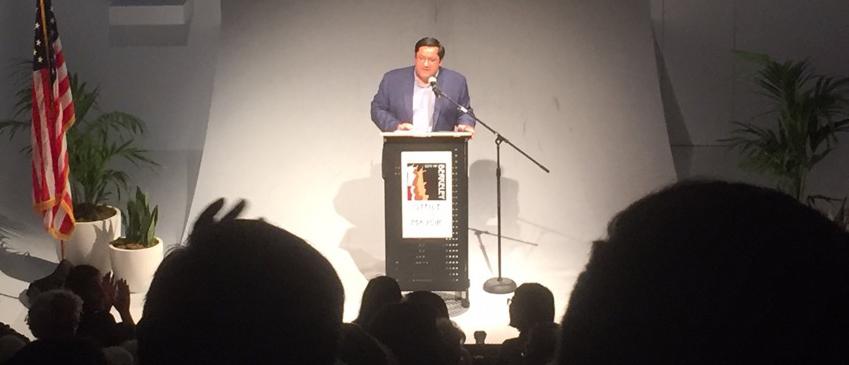 Mayor Arreguin delivering State of the City Address 2019