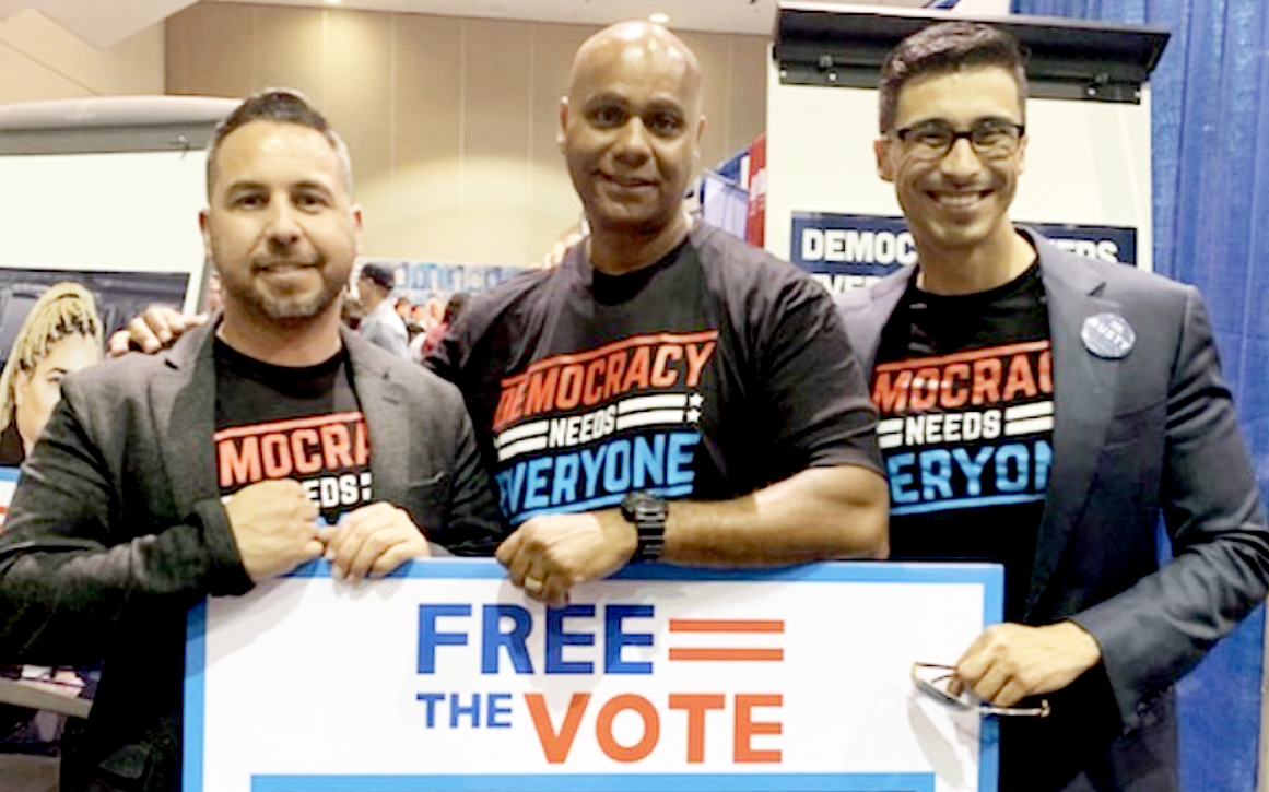 Free the Vote Group photo
