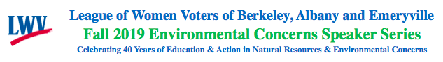 LWVBAE Environmental Concerns Speakers Series logo