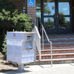 Mail-in drop Box at Albany City Hall