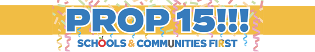 Prop 15 logo
