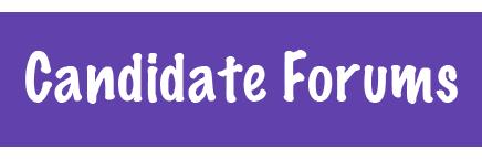 Candidate forum button