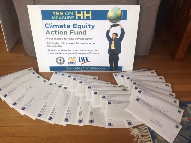 photo of Measure HH mailers