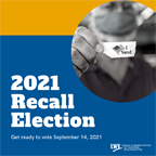 Recall election logo