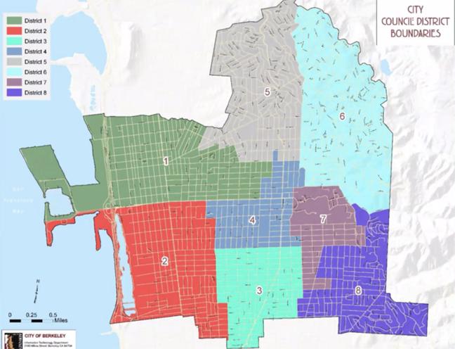 Berkeley districts