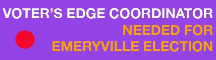 Emeryville volunteer Button
